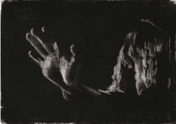 Light and Shadow Study - Charcoal Sketch #5 by FilipaPT