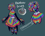 Rainbow Druzy [GIFT] by SmasherlovesEvil