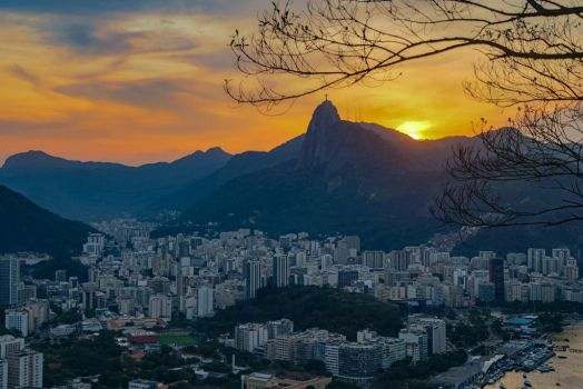 Rio Sunset by rmh7069