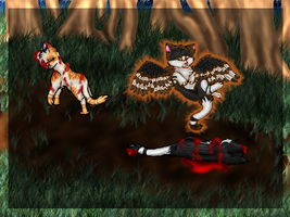 Swiftpaw's Death Contest Entry by mmoollyy10