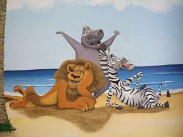 madagascar mural 5 by Theatricalarts