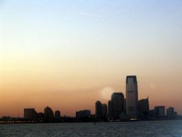 NYC at sunset 2 by linzi-chan