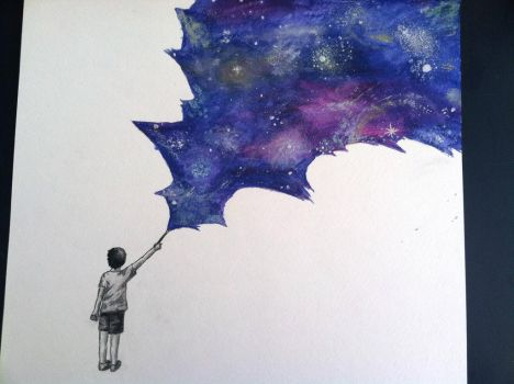 Painting the Universe by SanityAndSunshine