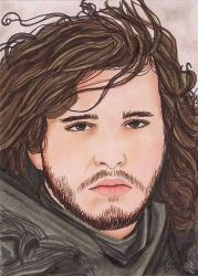 John Snow by Purple-Pencil