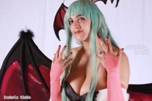 Morrigan Cosplay by Rin-alexiel