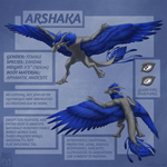 Reference: Arshaka by LauralienArt
