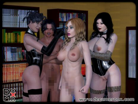 Feminization Session Preview by decaMeronX
