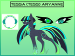(MLP) Tess Simple Ref by Changeling-Neon