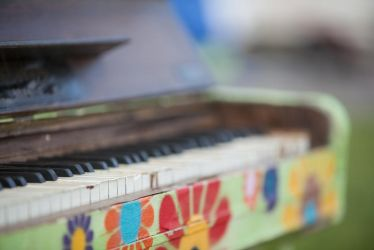 Hippie piano detail by ISOStock