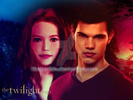 Renesmee and Jacob the future by Nastenkin