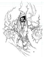 GLYPHX the Urban Mage | AetherSurge Manifest by NKOSI-Publishing
