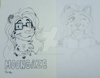 Moongaze the Jaguar by Maple and Digit by ChocolateStarfire