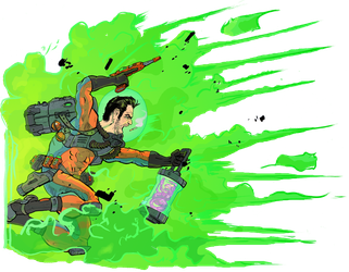 Fear Agent Color 2 small by BringerOfStorms