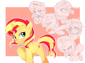 Sunset shimmer by Marenlicious