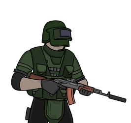 PMC warrior [Esacpe From Tarkov] by LukaTheSlav