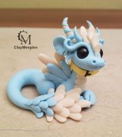 glow in the dark pet dragon figurine by claymeeples