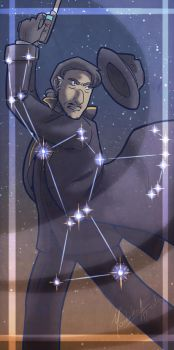 Orion Constellation by Silver-Northwind