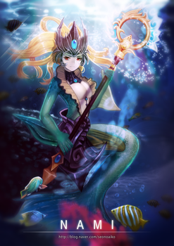 Nami ^_^ (And 1000th submission! :D) by NIELSPETERDEJONG