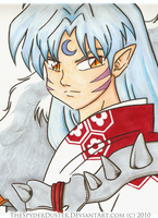 Lord Sesshomaru by TheSpyderDuster