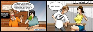Living with hipstergirl and gamergirl 306 by JagoDibuja