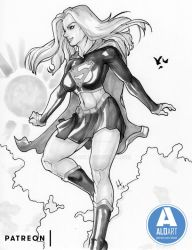 Supergirl Patreon by ALO-Art