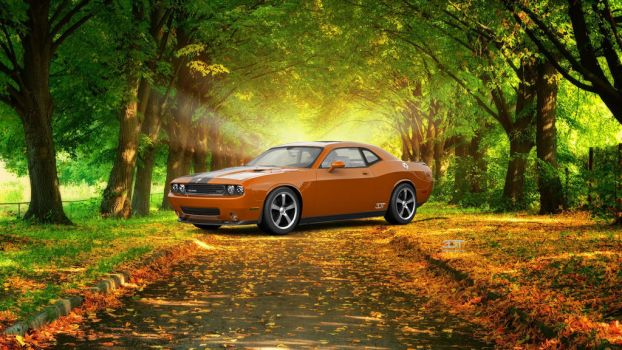 Dodge Challenger 2009 for Haley by NgKQ