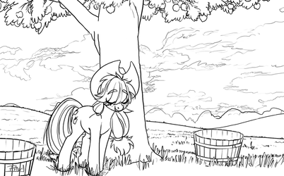 An Apple's Rest by Prism-S