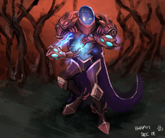 Arc Warden by KidneyShake