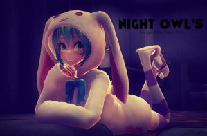 [MMD] Night Owl's by o0Glub0o