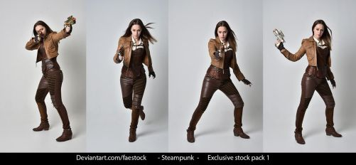 Steampunk - Exclusive Stock Pack 1 by faestock