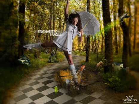 ENCHANTED FOREST by doze-ifk