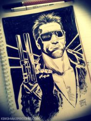 The Terminator by MATT-A-NASHI
