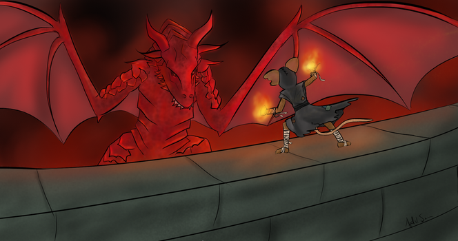 Last One Standing [Colin Vs Dragon] by Storming777