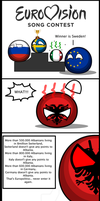 Countryball comic Winner Takes It All by Spyrobandi