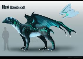 Aduak Species Adopt -CLOSED- by TaimaTala