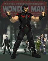 Wonder Man Movie Concept Art WIP by Needham-Comics