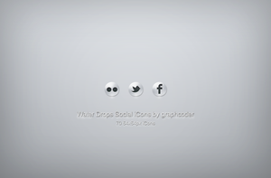 70 water drops social icons by graphcoder