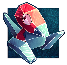 Porygon! by SplatterParrot