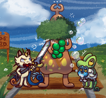 PMD-GS: Mision 6 by raffine-chan