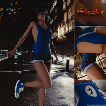 Pharah Casual by gallery-me
