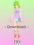 tda mmd sleepy gumi + download! by TheCarrotKouhai