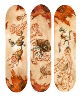 Skateboards by Yawzer