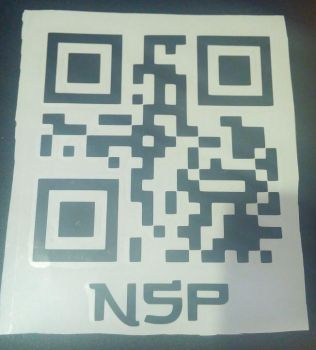 Ninja Sex Party QR Insertion Decal by xxSHEOLxx