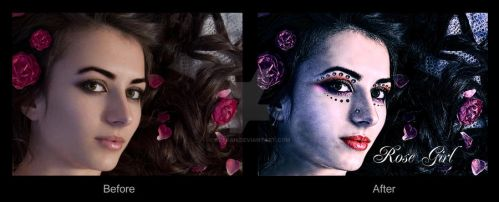 Rose Girl (Photo Retouch 8) by ARaFah