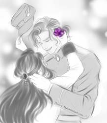 AusHun Week Day 4: Flowers by The-C-E-O