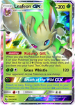 Leafeon GX EX (February CaC) by TheNyanCatXD