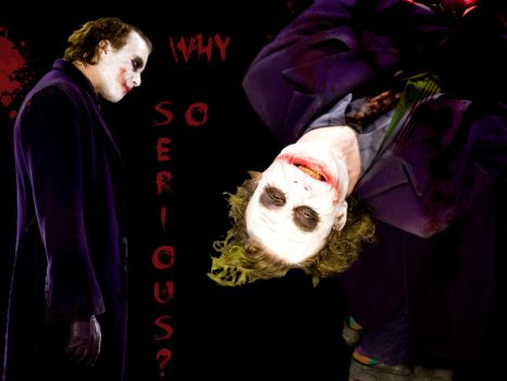 Why so serious? by IceHockeyLady