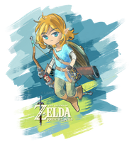 Link Breath of the Wild by Laisana