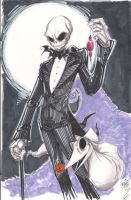 Jack Skellington Oct 2 2011 by Hodges-Art