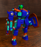 Transforming toy bot front by THEchosen0NE1